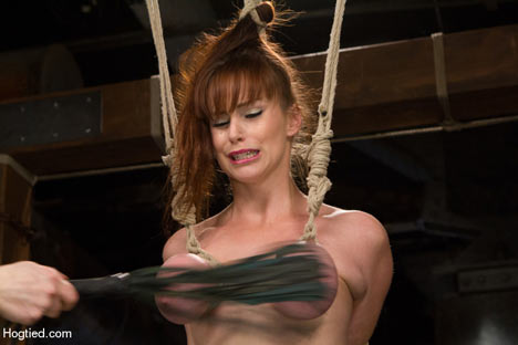 Matchless message, Breast whipping torture something