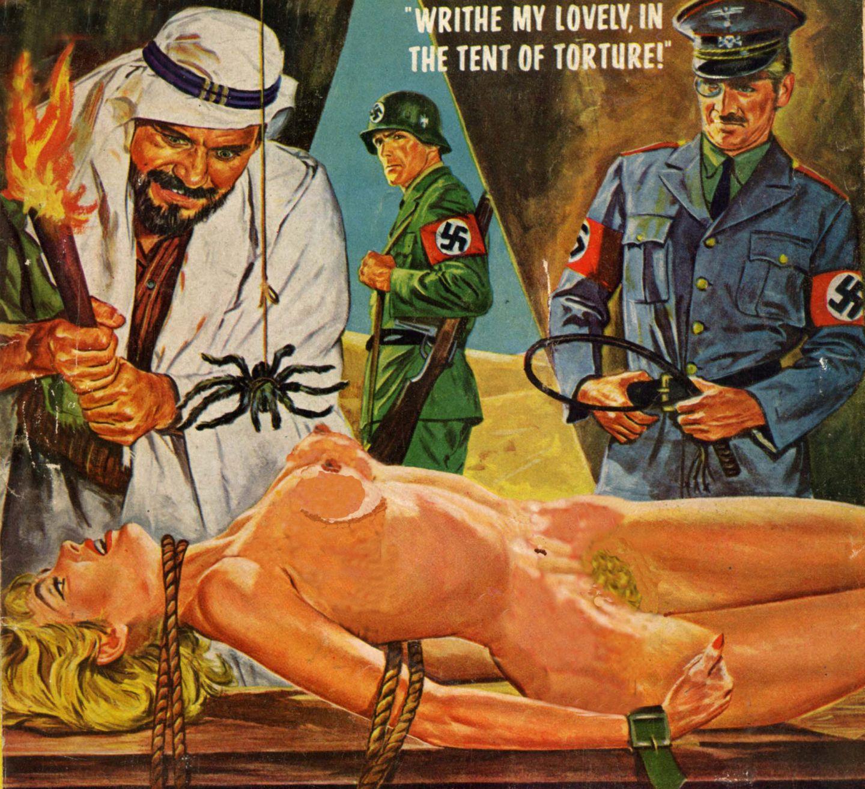 BDSM-freie Gimp-Geschichten, Natürliche haarlose Muschi