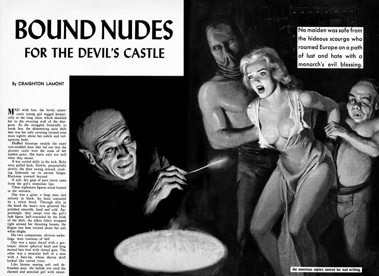 Bring Out the GIMP - Stories - BOUND NUDES FOR THE DEVIL'S ...